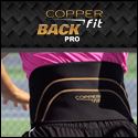 Copper Fit Back Pro