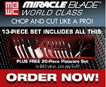 Miracle Blade 4 Knives - As Seen On TV